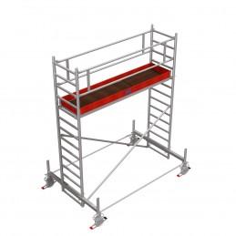 Rusztowanie wieżowe przejezdne Stabilo 100 podest 0,75 x 3,0m - 4,4m - 751461P