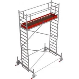 Rusztowanie wieżowe przejezdne Stabilo 100 podest 0,75 x 3,0m - 5,4m - 751560P
