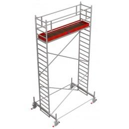 Rusztowanie wieżowe przejezdne Stabilo 100 podest 0,75 x 3,0m - 6,4m - 751669P