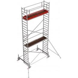 Rusztowanie wieżowe przejezdne Stabilo 100 podest 0,75 x 3,0m - 7,4m - 751768P