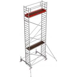 Rusztowanie wieżowe przejezdne Stabilo 100 podest 0,75 x 3,0m - 8,4m - 751867P