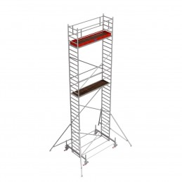 Rusztowanie wieżowe przejezdne Stabilo 100 podest 0,75 x 3,0m - 9,4m - 751966P