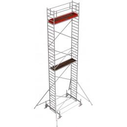 Rusztowanie wieżowe przejezdne Stabilo 100 podest 0,75 x 3,0m - 10,4m - 751065P