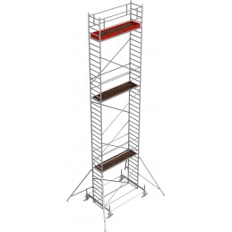Rusztowanie wieżowe przejezdne Stabilo 100 podest 0,75 x 3,0m - 11,4m - 751164P