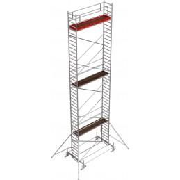 Rusztowanie wieżowe przejezdne Stabilo 100 podest 0,75 x 3,0m - 12,4m - 751263P