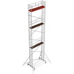 Rusztowanie wieżowe przejezdne Stabilo 100 podest 0,75 x 3,0m - 13,4m - 751362P