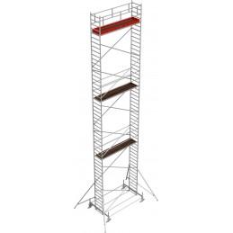 Rusztowanie wieżowe przejezdne Stabilo 100 podest 0,75 x 3,0m - 14,4m - 751409P
