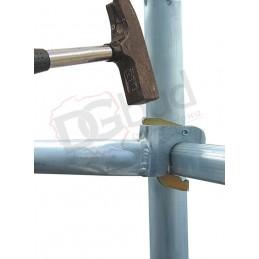 Opatentowany system mocowania stężeń aluminiowych we wszystkich rusztowaniach STABLO( 10,50,100,500,...)